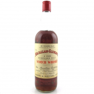 Macallan 15 Year Old Gordon and MacPhail 1970s