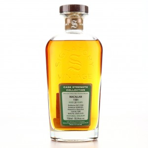 Macallan 1984 Signatory Vintage 20 Year Old Cask Strength 75cl / US Import