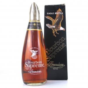 Bourbon Supreme 6 Year Old 1970s / Eagle Bottle