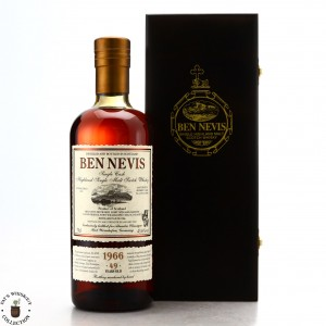 Ben Nevis 1966 Single Sherry Cask 49 Year Old #4299 / Alambic Classique