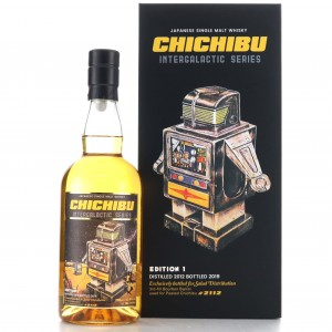 *Chichibu 2012 Single Ex-Peated Bourbon Cask #2112 / Intergalactic Edition 1 - with Tote Bag