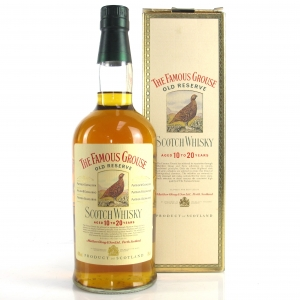 Famous Grouse Old Reserve Aged 10 to 20 Years 1980s / Japanese Import