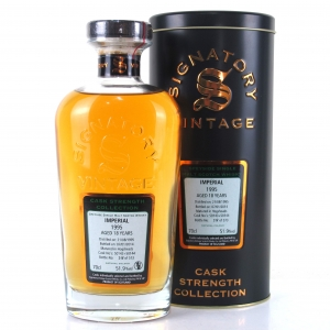 Imperial 1995 Signatory Vintage 18 Year Old Cask Strength