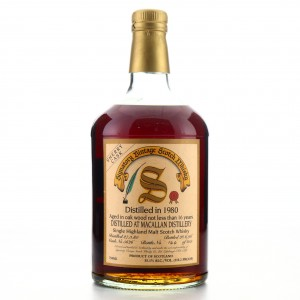 Macallan 1980 Signatory Vintage 16 Year Old 75cl / US Import