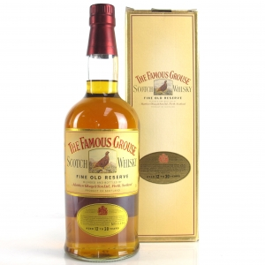 Famous Grouse Fine Old Reserve Aged 12 to 30 Years 1980s / Japanese Import