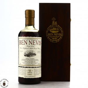 Ben Nevis 1967 Single Sherry Cask 41 Year Old #1281 / Alambic Classique