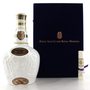 Chivas Regal 25 Year Old Royal Salute for Royal Wedding 1993 / Marriage of Japanese Crown Prince