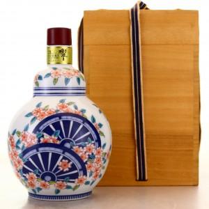 Hibiki 21 Year Old Ceramic Arita Decanter 2013 Release