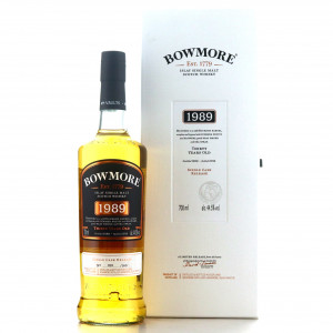Bowmore 1989 Single Cask Release 30 Year Old / No.1 Vaults - Japanese Exclusive