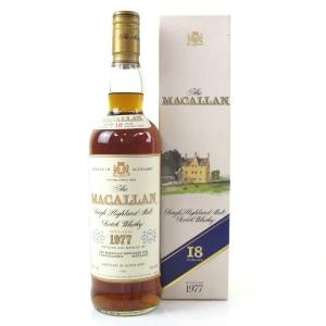 Macallan 18 Year Old 1977 / Bank of Scotland