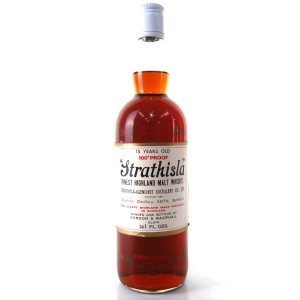 Strathisla 15 Year Old Gordon and MacPhail 100 Proof 1970s