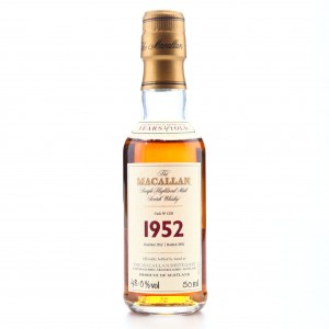 Macallan 1952 Fine and Rare 49 Year Old Miniature 5cl