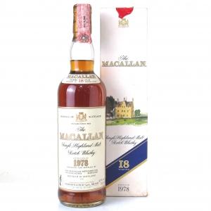 Macallan 18 Year Old 1978 / Giovinetti Import