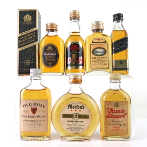 Miscellaneous Whisky Miniatures 7 x 5cl