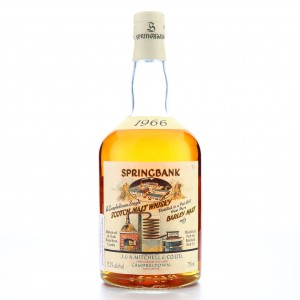 Springbank 1966 Bourbon Cask #479 75cl / Local Barley - US Import