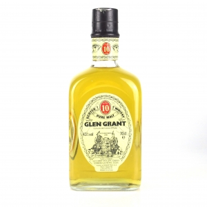 Glen Grant 10 Year Old / Seagram Italia Import