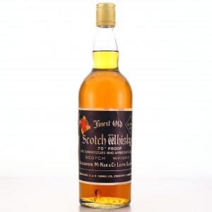 Alexander McNab Finest Old Scotch Whisky 1970s
