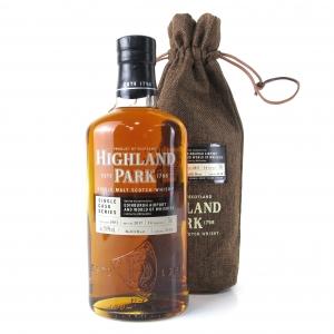 Highland Park 2003 Single Cask 14 Year Old #2118 / Edinburgh Airport Exclusive