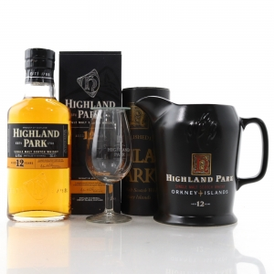 Highland Park 12 Year Old 35cl / with Jug & Glass