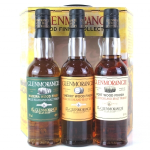 Glenmorangie Original Wood Finishes Collection 3 x 33.3cl