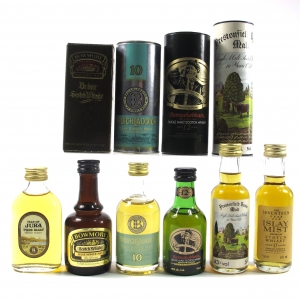 Island & Islay Miniatures 6 x 5cl / Including Bowmore Prestonfield