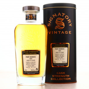 Port Dundas 1991 Signatory Vintage 25 Year Old