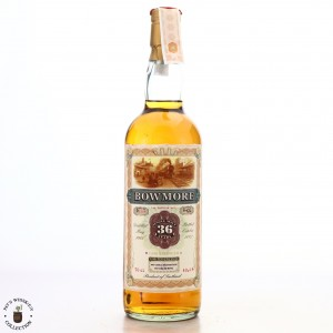 Bowmore 1966 Jack Wiebers 36 Year Old / Old Train Line