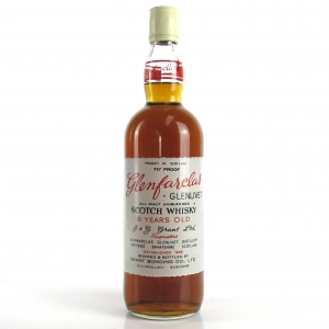 Glenfarclas 8 Year Old 1970s / Screen Printed Label