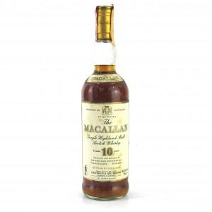 Macallan 10 Year Old 1980s / Giovinetti Italian Import