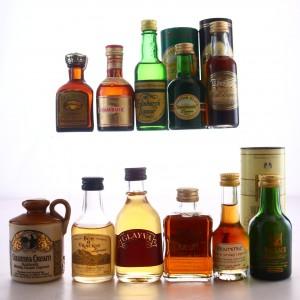 Liqueur Miniatures x 11