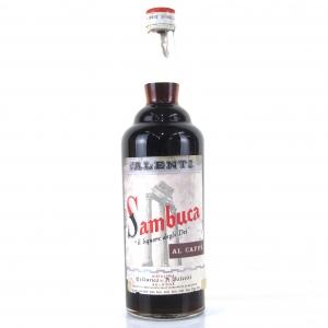 Valenti Sambuca Al Caffe 1 Litre 1960s