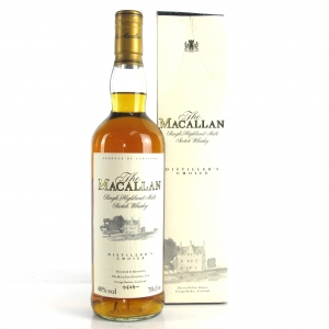 Macallan Distiller's Choice / Japanese Import