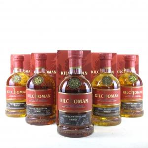 Kilchoman 2010 Single Bourbon Cask / Taiwan Exclusive 5 x 70cl