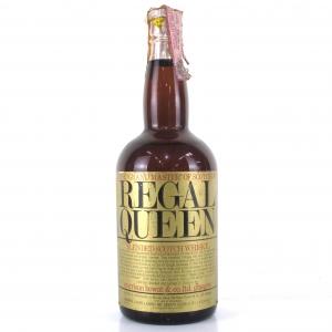 Regal Queen Scotch Whisky 1960s