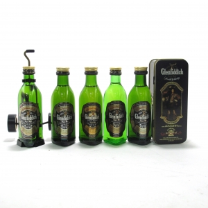 Glenfiddich Special Old Reserve Miniatures 5 x 5cl / includes Clan Murray Tin