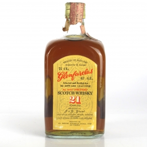 Glenfarclas 21 Year Old 1970s / Pinerolo Import