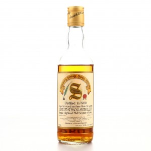 Macallan 1980 Signatory Vintage 14 Year Old 37.5cl / US Import