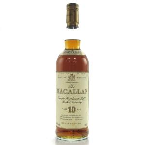 Macallan 10 Year Old 1980s