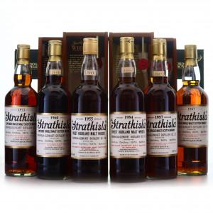 Strathisla 1954, 1955, 1957, 1960, 1967 & 1972 Gordon and MacPhail