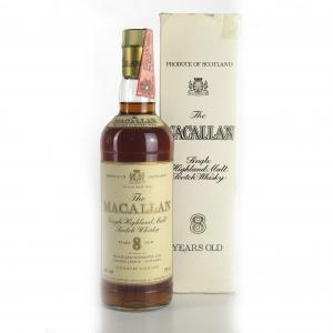 Macallan 8 Year Old 1980s / Rinaldi Import