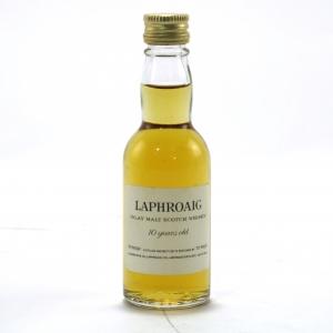 Laphroaig 10 Year Old Miniature 1970s