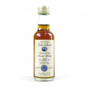 John Scott & Millers 35 Year Old Blend / Highland Park and Invergordon 5cl Miniature