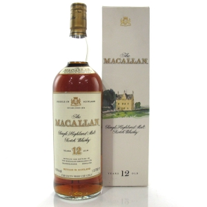 Macallan 12 Year Old 1 Litre 1980s