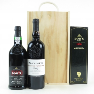 Dow's 1990 LBV Port and Taylor's 2005 LBV Port / 2 x 75cl