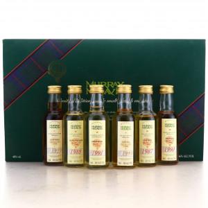 Murray McDavid Miniatures x 6 / including Springbank 1991