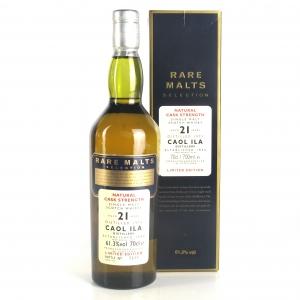 Caol Ila 1975 Rare Malt 21 Year Old / 61.3%