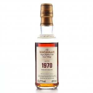 Macallan 1970 Fine and Rare 32Year Old #241 Miniature