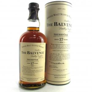 Balvenie 17 Year Old Sherry Oak / First Release 2007