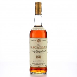 Macallan 1968 18 Year Old / I.H Barker Import