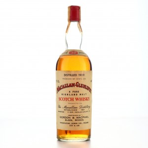 Macallan 1939 Gordon and MacPhail 30 Year Old / Donini Import